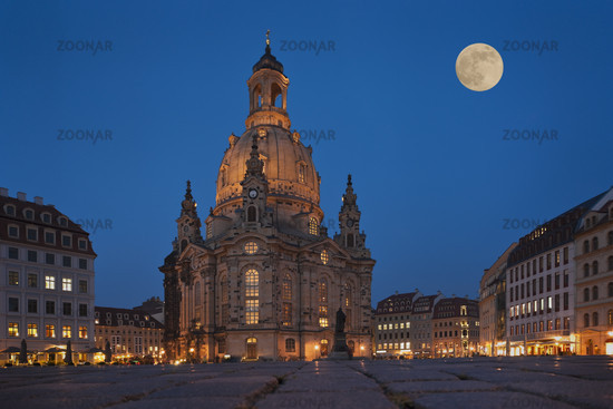 Frauenkirche Dresden   Church of Our Lady, Dresden