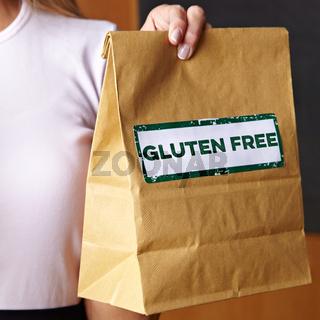 Gluten Free Order in Café