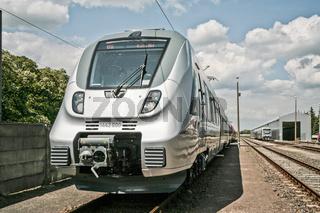 Inbetriebnahme von S-Bahn-Zuegen fuer die DB AG