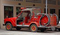 Toyota Landcruiser als Feuerwehrfahrzeug
