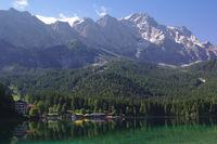 Eibsee und Zugspitze 1