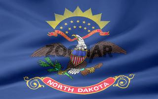 Flagge von North Dakota - USA