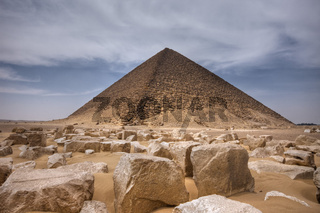 Rote Pyramide des Pharao Snofru