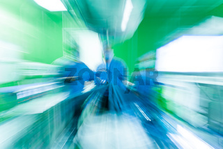 Abstract Hospital Surgery