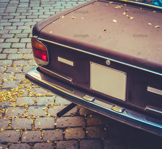 Seventies Brown Car