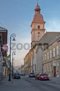 Kirche in der Altstadt von Kaschau (Slowakei)