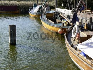 Zeesenboote auf Fischland-Darß