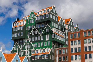 Modern architecture in Zaandam - Netherlands