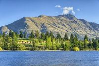 Lake Wakatipu and the Remarkables