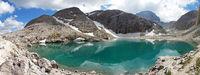 Lago d'Antermoia, South Tyrol, Italy