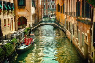 Beautiful venetian street