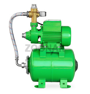 Green electric high pressure water pump