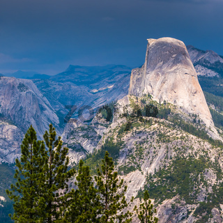 The Half Dome in Yosemite