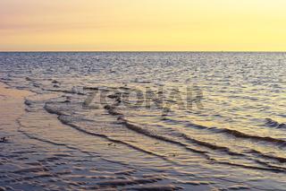 Abendstimmung am Meer