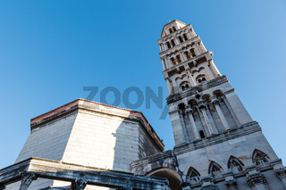 Cathedral of Saint Duje Bell Tower, Split, Croatia