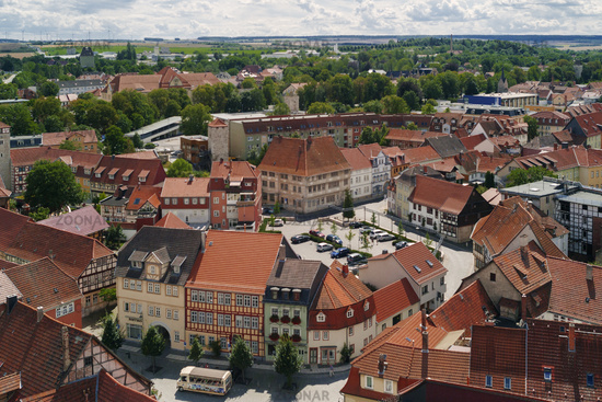 Panorama von der Altstadt Bad Langensalza