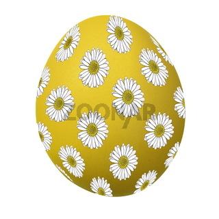 Osterei gelb