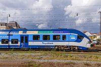 Moderner Regionalzug in Tschechien