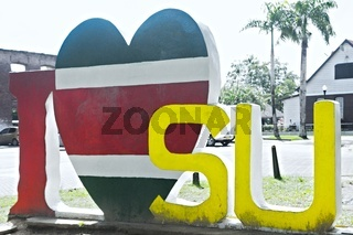 I Love Suriname