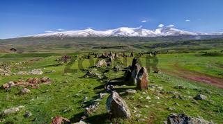Prehistoric Zorats Karer site near Karahunj village, Armenia