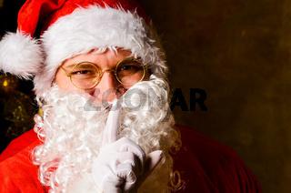 Santa keeps Christmas secrets