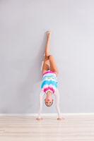 Professional gymnast woman
