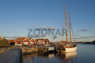 Mollösund Hafen