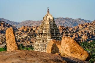Impressive Virupaksha temple