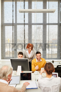 EDV Workshop im Büro