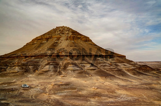 Mountain near Bahariya oasis, Egypt