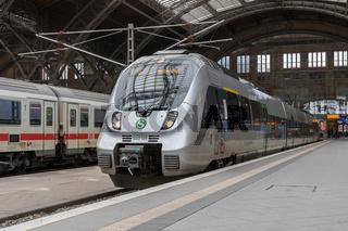 S1 im Leipziger Hauptbahnhof