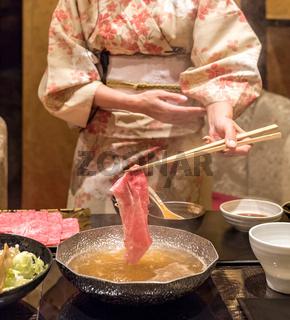 matsusaka beef Shabu