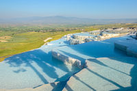 Travertine terrace, Pamukkale