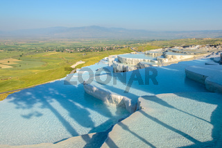 Travertine terrace, Pamukkale