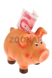 Chinesische Yuan Banknoten
