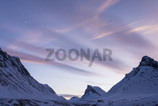 Abendstimmung, Stuor Reaiddavaggi, Lappland