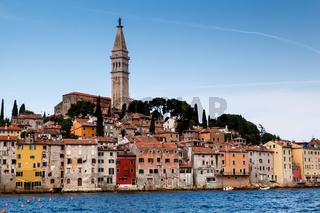 Medieval City of Rovinj and Saint Euphemia Cathedral, Istria, Croatia
