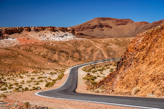 Empty road in Argentina