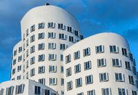 Düsseldorf Medienhafen - zeitgenössische Architektur
