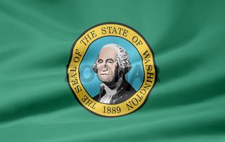 Flagge von Washington - USA