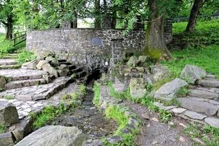 Quelle der Fulda auf der Wasserkuppe in der Rhön