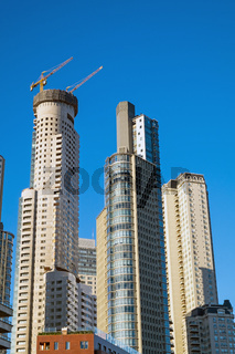 Wolkenkratzer im Puerto Madero-Viertel in Buenos Aires