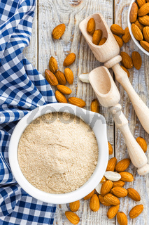 Almond flour and nuts