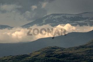 Hochgebirge von Reinheimen in Norwegen
