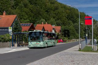 Regionalbus in Gräfenroda (Thüringen)