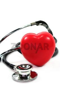 Stethoskop mit Herz