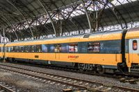 RegioJet Speisewagen in Prag