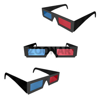 3d cinema glasses