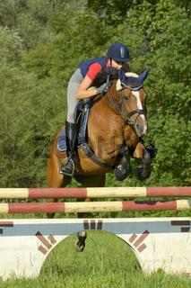 Springen mit Pony