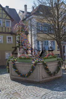 Osterbrunnen in Langenburg an der Jagst